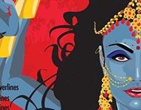 Kaali Illustration for Digital Arts Magazine