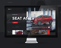 Seat Ateca Landing Page