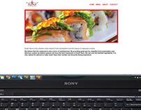 Sushi Haus Responsive Design Website