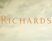 Peças gráficas para a marca Richards