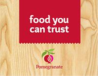 Pomegranate Playbill | Barclay Center 2013