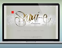 Diseño de sitio web para Patricia Inés, artísta sumié