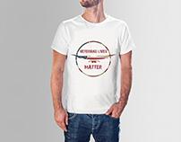 """""""Veterans Lives Matter"""" T-shirt Design"""