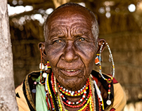 Portraits of Masai Community in Kenya