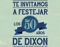 Invitación 50 años