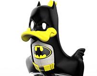"""Batman & Batmobile V1989 mix"" BANADUCK (type 4)"