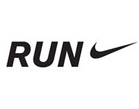 Nike Running Copy Ads