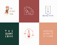 Quirky Cork Logo Options