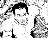Archietomorph - Comic Book Page
