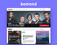 Bomond. Event-site for Russian audience in the US