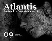 ATLANTIS San Diablo ~ Carpe Omnium 2LP