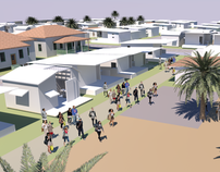 Haiti Urban Design Renderings