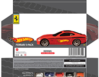 Hot Wheels Package re-Design