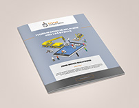 A4 Brochure design (client: Inited Solution)