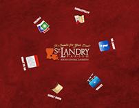 """St. Landry Parish Tourism's 55"""" Ideum Multi-Touch Table"""