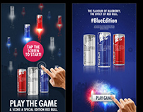 Red Bull Light Up Your City: Touchscreen Game