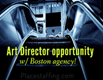 Art Director position available!