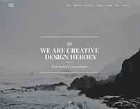 Emerald - Creative Onepage