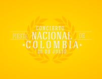 Gráfica concierto nacional de bandas