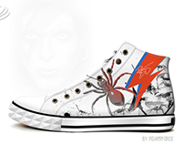 David Bowie Inspired Footwear