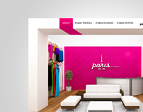 Sitio Web Paris Tiendas.