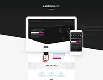 Internet security landing page