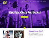 Seven Fitness - Website
