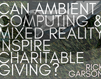 Can Mixed Reality Inspire Charitable Giving?