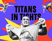 TITANS IN TIGHTS   WEBSITE DESIGN