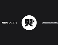 FilmSociety logo / slogan / web design