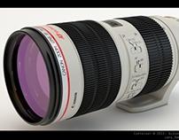 Canon 70-200, Nikon 24-70 Lenses