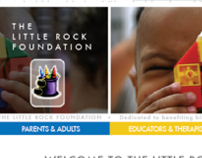 The Little Rock Foundation Website Comps