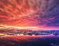 Jökulsárlón - Glacier Lagoon - Iceland 2016