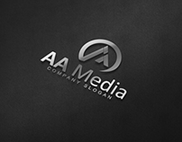 AA Media Logo Template