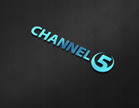 Channel 5 Logo Template
