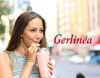 GERLINÉA - Gamme Smoothies Packaging