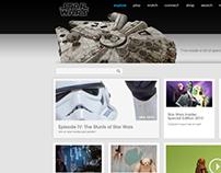 starwars.com official site design
