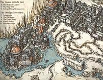 Fictional City Maps