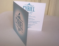 Birth Announcement Cyriel