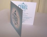 Birth Announcement Cyriel