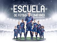 Escuela de Fútbol Comfandi