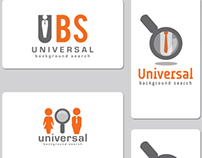 Universal Background Search (logo)