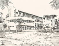 University of Miami Alumni Center Rendering