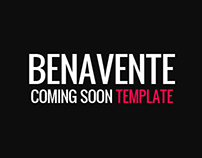 Benavente - Coming Soon Template