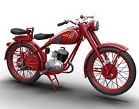 Visualization Motorbike Historic