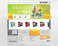 Online Store: Boxter