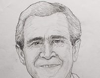 Drawings: Portraits of US Presidents