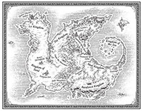 Literary End-Sheet Maps
