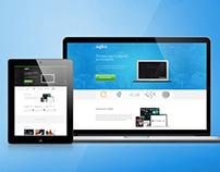 Xafira - Landing Page