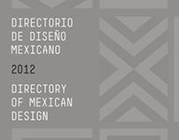 En: Directorio de Diseño Mexicano2012/CENTRO